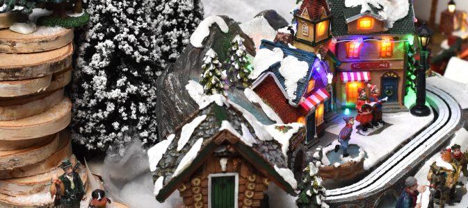 Chalet dans un village miniature Lucille