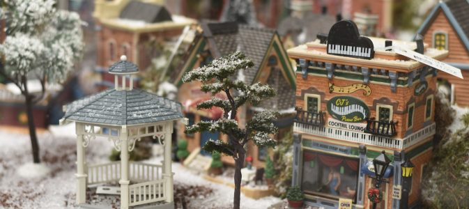 Villages de no l miniatures lemax inspirations desjardins - Village de noel miniature ...